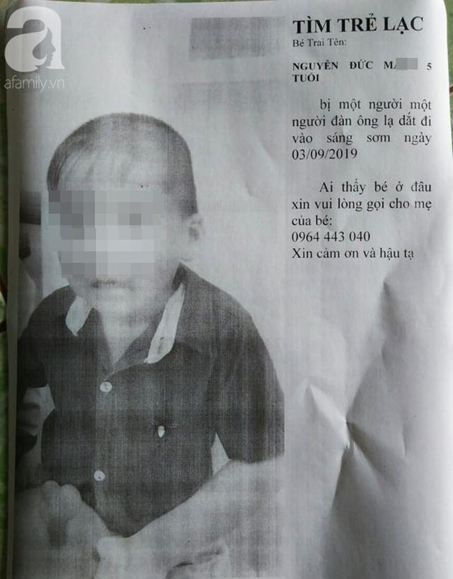 Nghi án người dượng tâm thần bắt cháu trai 5 tuổi từ Bình Phước xuống Bình Dương rồi mất tích bí ẩn - Ảnh 1.