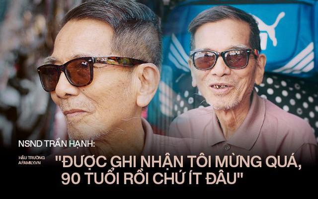 Người đàn ông khắc khổ nhất màn ảnh Việt NSND Trần Hạnh trải lòng về người vợ hay ghen và sự thật câu chuyện mưu sinh vất vả mà người đời hay bàn tán  - Ảnh 1.