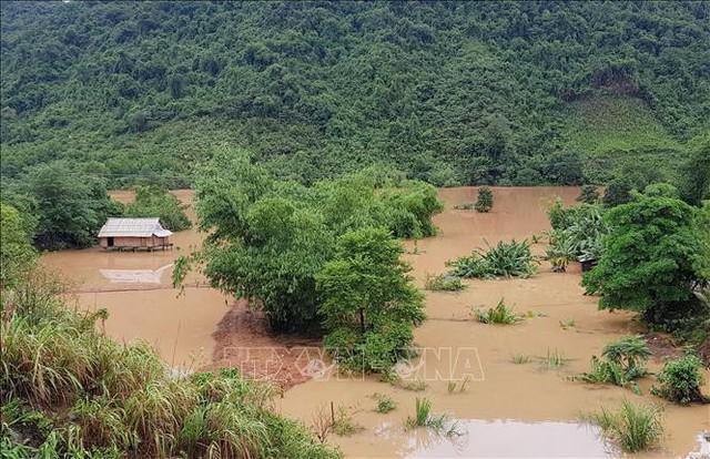 Áp thấp nhiệt đới suy yếu thành một vùng áp thấp  - Ảnh 1.