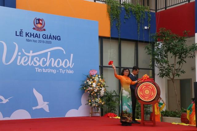 Những màn biểu diễn đặc sắc của các em học sinh Thủ đô trong ngày khai giảng năm học 2019 - Ảnh 1.