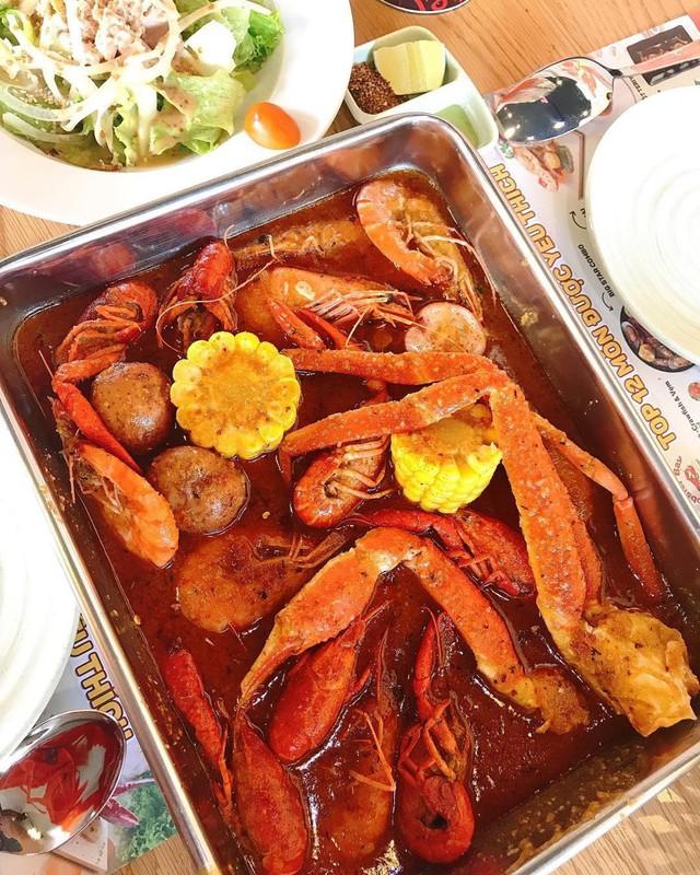 5 quán hải sản tươi ngon ở TP.HCM cho hội bạn thân tụ tập - Ảnh 14.