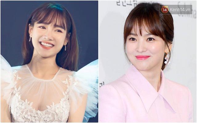 Nhã Phương vừa đổi kiểu tóc, dân tình đã thi nhau trầm trồ: Giống Song Hye Kyo quá - Ảnh 4.