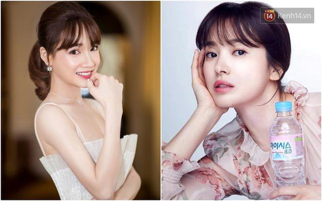 Nhã Phương vừa đổi kiểu tóc, dân tình đã thi nhau trầm trồ: Giống Song Hye Kyo quá - Ảnh 5.