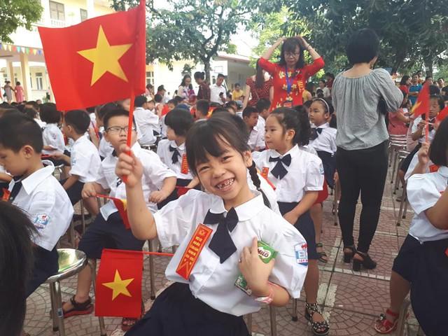 Những màn biểu diễn đặc sắc của các em học sinh Thủ đô trong ngày khai giảng năm học 2019 - Ảnh 5.
