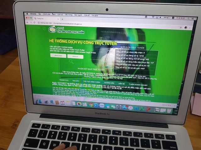 Cục An toàn thực phẩm triển khai dịch vụ công trực tuyến mức độ cao nhất: Hiện đại, minh bạch, lợi ích nhiều bên - Ảnh 1.