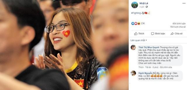Bằng hành động nhỏ này, Quang Hải khẳng định quan hệ hiện tại với bạn gái sau trận gặp Thái Lan? - Ảnh 2.