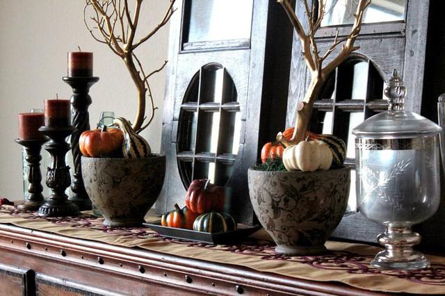 Không cần phải tốn tiền bạc hay công sức, với một chút sáng tạo là bạn có thể đem mùa thu đẹp dịu dàng vào nhà - Ảnh 1.