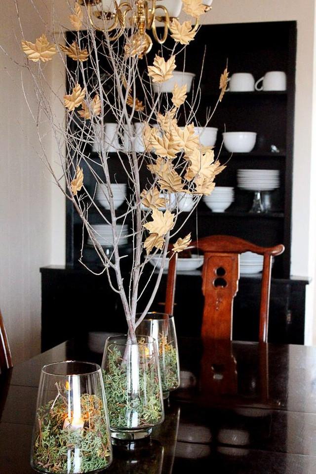 Không cần phải tốn tiền bạc hay công sức, với một chút sáng tạo là bạn có thể đem mùa thu đẹp dịu dàng vào nhà - Ảnh 2.