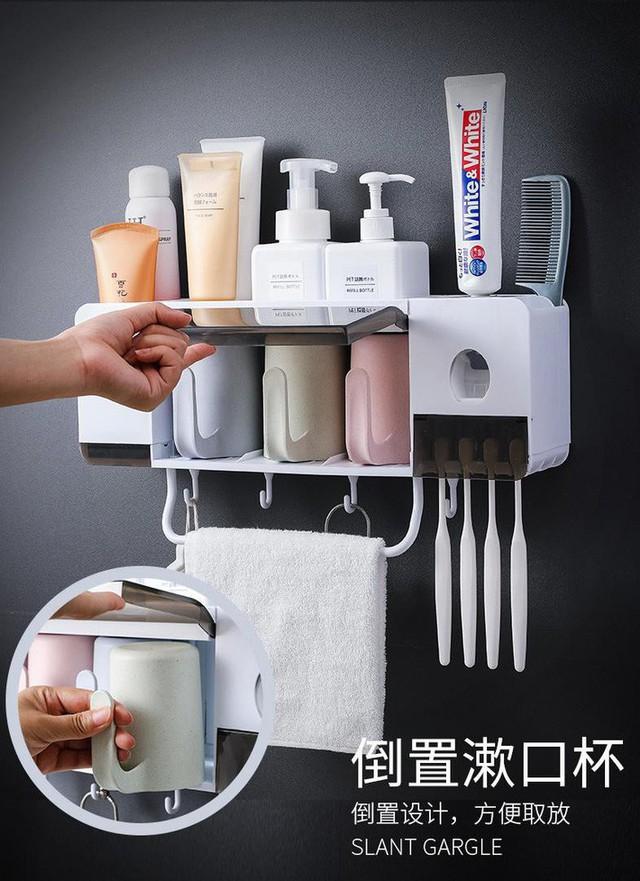 Giá đựng đa năng không cần khoan tường giúp phòng tắm luôn gọn gàng - Ảnh 11.