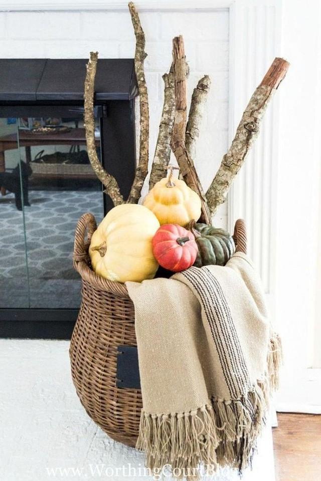 Không cần phải tốn tiền bạc hay công sức, với một chút sáng tạo là bạn có thể đem mùa thu đẹp dịu dàng vào nhà - Ảnh 11.
