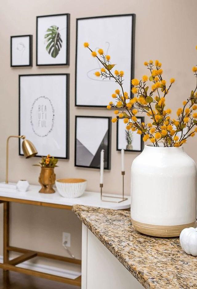 Không cần phải tốn tiền bạc hay công sức, với một chút sáng tạo là bạn có thể đem mùa thu đẹp dịu dàng vào nhà - Ảnh 12.