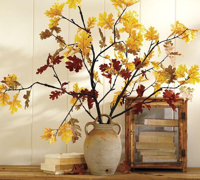 Không cần phải tốn tiền bạc hay công sức, với một chút sáng tạo là bạn có thể đem mùa thu đẹp dịu dàng vào nhà - Ảnh 3.