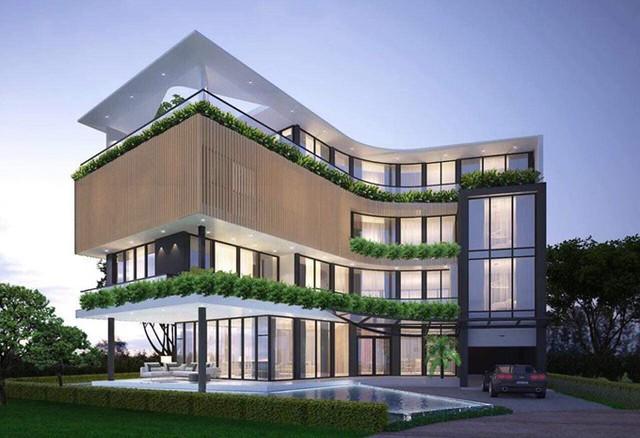 Hết gây choáng váng bằng căn hộ 10 tỷ ông bầu Vũ Khắc Tiệp lại tiếp tục khiến fan sốc với biệt thự triệu đô ở khu nhà giàu - Ảnh 12.
