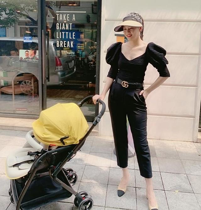 Á hậu Thanh Tú giảm 10 kg sau sinh - Ảnh 3.