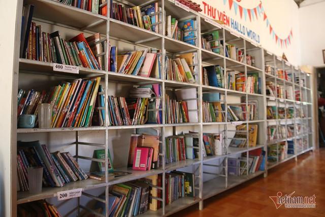 Chàng shipper bỏ tiền túi, xây thư viện hàng nghìn cuốn cho học sinh nghèo - Ảnh 5.