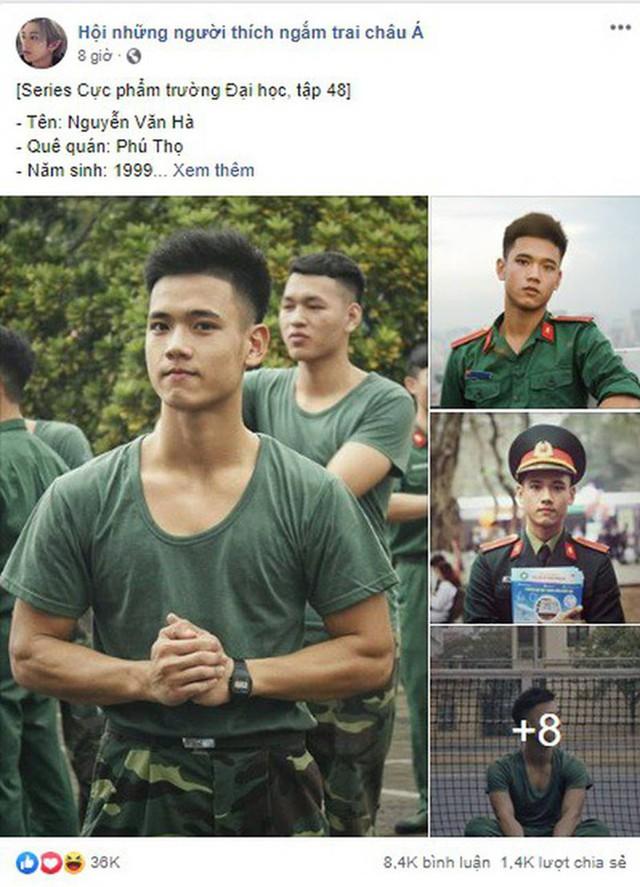 """Hotboy 9X trường quân sự """"siêu cấp đẹp trai"""" nhiều tài lẻ - Ảnh 1."""