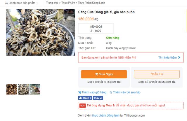 Thực hư giá càng cua đồng 500.000 đồng/kg, được cho là có tiền cũng khó mua - Ảnh 8.