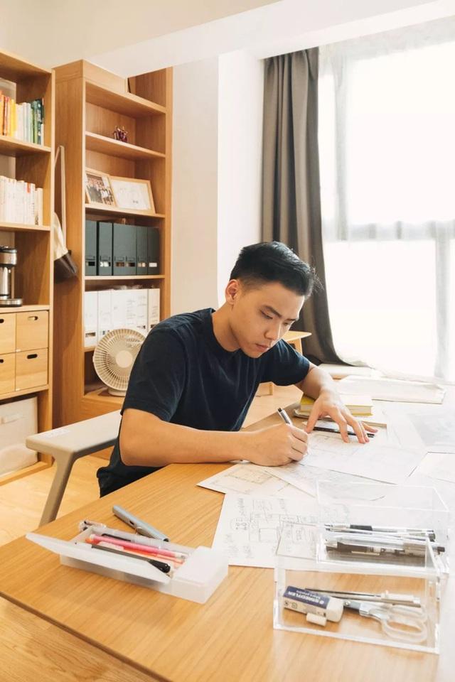 Thay vì mua nhà ngoại ô rộng rãi, chàng trai dành tiền cải tạo căn hộ 35m² đẹp tiện nghi ở trung tâm thành phố - Ảnh 2.