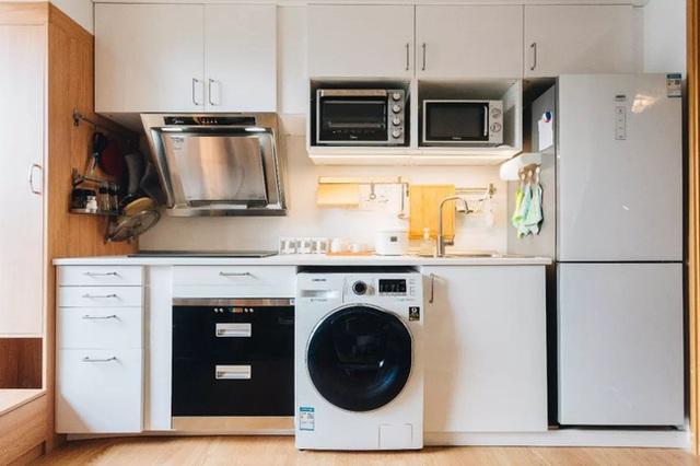 Thay vì mua nhà ngoại ô rộng rãi, chàng trai dành tiền cải tạo căn hộ 35m² đẹp tiện nghi ở trung tâm thành phố - Ảnh 13.