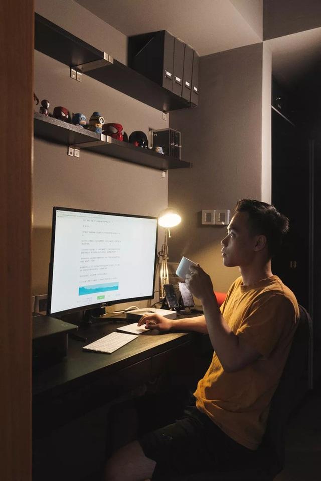 Thay vì mua nhà ngoại ô rộng rãi, chàng trai dành tiền cải tạo căn hộ 35m² đẹp tiện nghi ở trung tâm thành phố - Ảnh 16.