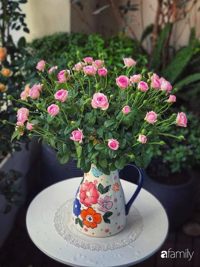 Ngày đầu năm ghé thăm những góc nhỏ dịu dàng sắc hoa trong căn nhà ấm cúng của bà mẹ trẻ Hà Nội - Ảnh 24.