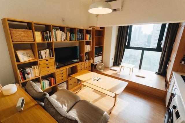 Thay vì mua nhà ngoại ô rộng rãi, chàng trai dành tiền cải tạo căn hộ 35m² đẹp tiện nghi ở trung tâm thành phố - Ảnh 5.