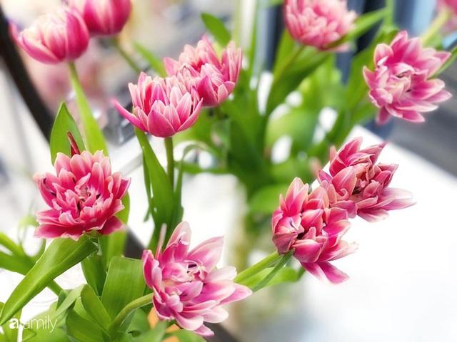 Ngày đầu năm ghé thăm những góc nhỏ dịu dàng sắc hoa trong căn nhà ấm cúng của bà mẹ trẻ Hà Nội - Ảnh 33.