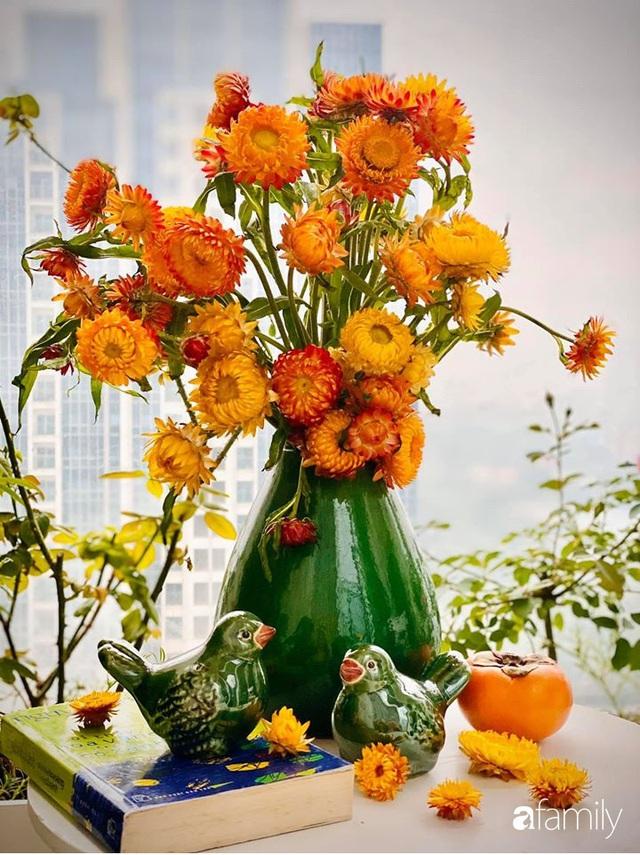 Ngày đầu năm ghé thăm những góc nhỏ dịu dàng sắc hoa trong căn nhà ấm cúng của bà mẹ trẻ Hà Nội - Ảnh 36.