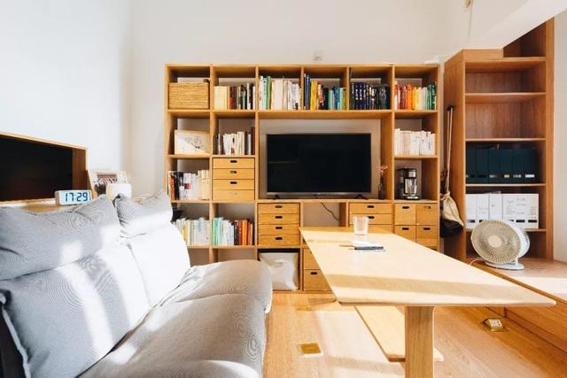 Thay vì mua nhà ngoại ô rộng rãi, chàng trai dành tiền cải tạo căn hộ 35m² đẹp tiện nghi ở trung tâm thành phố - Ảnh 6.
