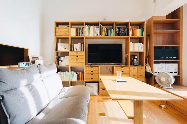 Thay vì mua nhà ngoại ô rộng rãi, chàng trai dành tiền cải tạo căn hộ 35m² đẹp tiện nghi ở trung tâm thành phố - Ảnh 11.