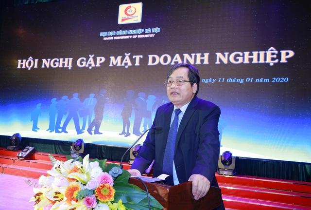 Đại học Công nghiệp Hà Nội tổ chức Hội nghị tổng kết và gặp mặt hơn 100 doanh nghiệp - Ảnh 2.