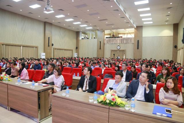 Đại học Công nghiệp Hà Nội tổ chức Hội nghị tổng kết và gặp mặt hơn 100 doanh nghiệp - Ảnh 3.