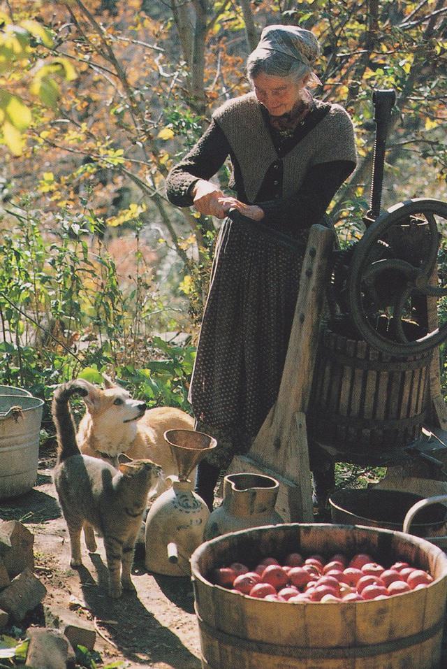Cuộc sống an yên của cụ bà 92 tuổi bên khu vườn chính mình tự tay trồng hoa, rau quả ở vùng thôn quê - Ảnh 13.