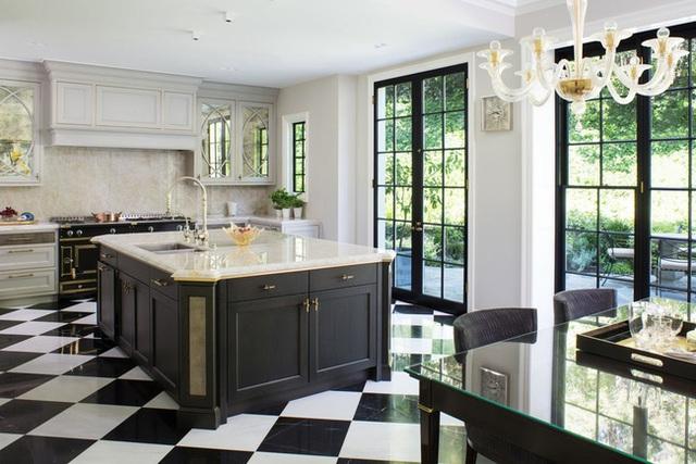 Căn bếp đen - trắng vừa đẹp vừa sang lại luôn gọn gàng ngăn nắp - Ảnh 21.