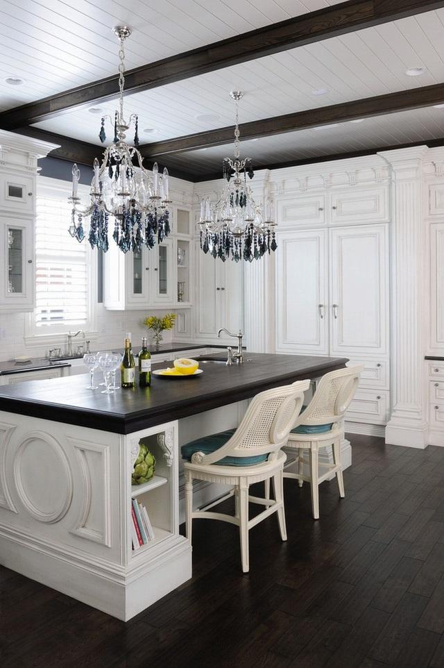 Căn bếp đen - trắng vừa đẹp vừa sang lại luôn gọn gàng ngăn nắp - Ảnh 10.