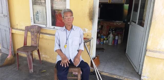 Vợ chồng ông lão tật nguyền 10 năm tình nguyện gác tàu ở Hải Phòng - Ảnh 4.