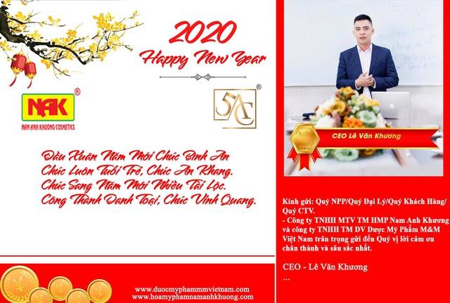 Thư cảm ơn và chúc Tết qúy khách hàng nhân dịp xuân Canh Tý 2020 - Ảnh 1.