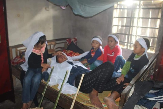 Đau lòng 4 đứa trẻ mất bố khi cận Tết, mẹ đang bị bệnh nặng - Ảnh 4.