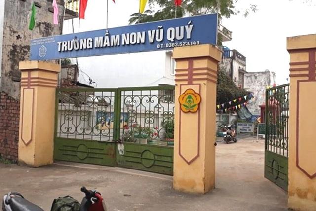 Nghi vấn bé gái 3 tuổi ở Thái Bình bị xâm hại tình dục tại trường học - Ảnh 1.
