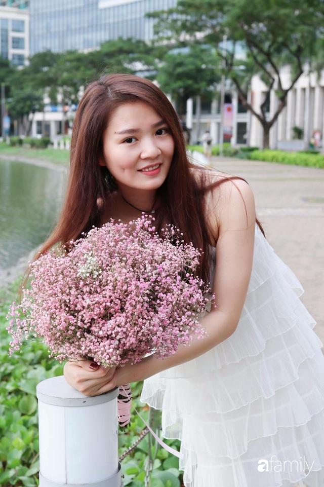 Căn bếp màu hồng ngọt ngào đẹp rụng tim của cô nàng dành tất cả niềm đam mê cho việc làm bánh ở Sài Gòn - Ảnh 3.