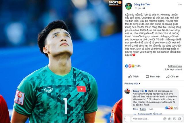 MC Quyền Linh nhắn nhủ Bùi Tiến Dũng sau thất bại của U23 Việt Nam  - Ảnh 1.