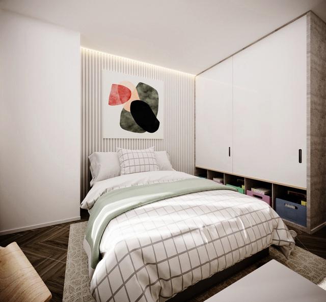Thiết kế nhà có gác lửng với diện tích 100m² cho gia đình 4 người với tổng chi phí 158 triệu đồng - Ảnh 12.