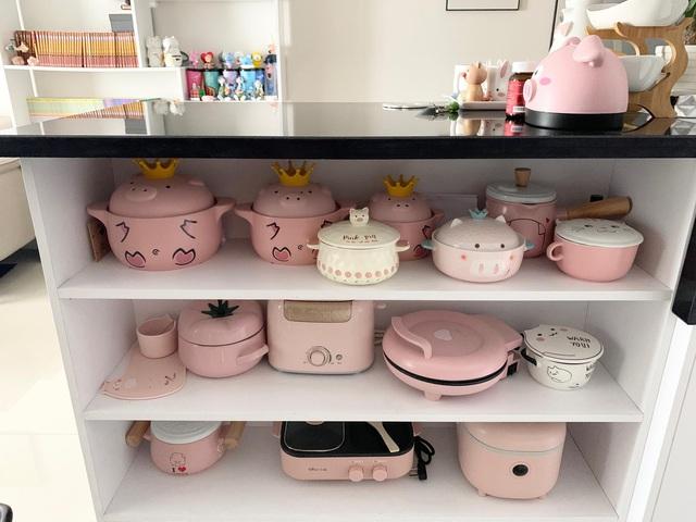 Căn bếp màu hồng ngọt ngào đẹp rụng tim của cô nàng dành tất cả niềm đam mê cho việc làm bánh ở Sài Gòn - Ảnh 15.