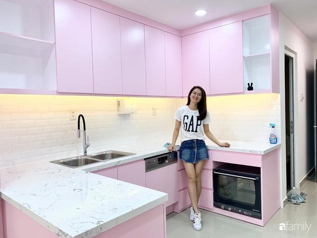 Căn bếp màu hồng ngọt ngào đẹp rụng tim của cô nàng dành tất cả niềm đam mê cho việc làm bánh ở Sài Gòn - Ảnh 6.