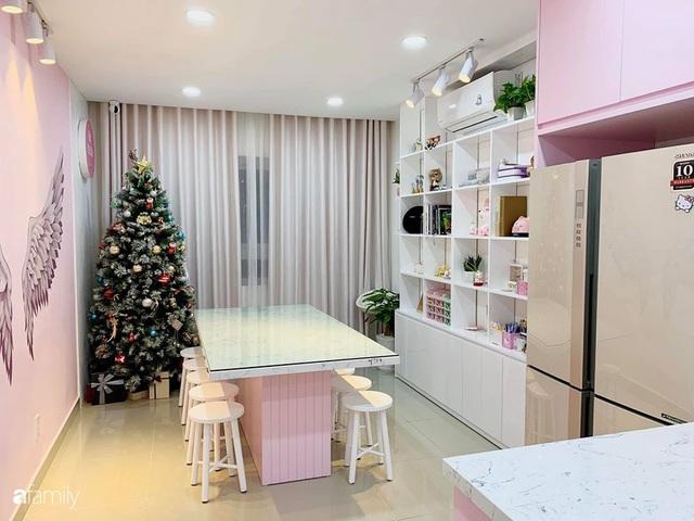 Căn bếp màu hồng ngọt ngào đẹp rụng tim của cô nàng dành tất cả niềm đam mê cho việc làm bánh ở Sài Gòn - Ảnh 8.