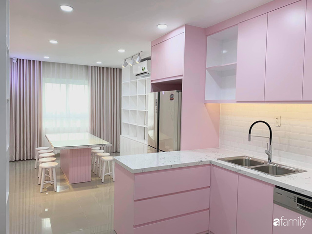 Căn bếp màu hồng ngọt ngào đẹp rụng tim của cô nàng dành tất cả niềm đam mê cho việc làm bánh ở Sài Gòn - Ảnh 9.