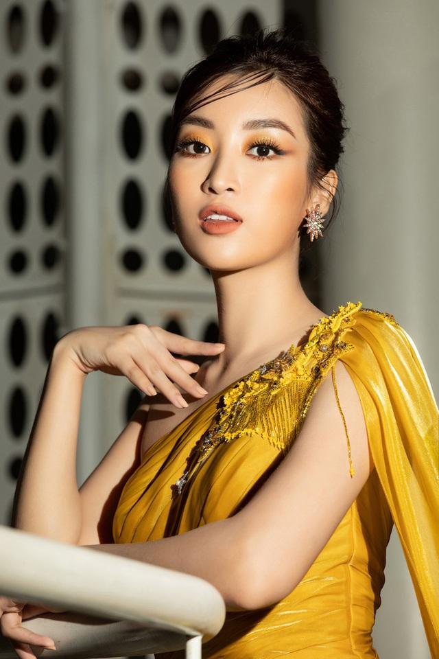 3 nàng Hậu Mỹ Linh - Tiểu Vy - Thùy Linh diện váy xẻ thót tim, khoe nhan sắc đỉnh cao trong một khuôn hình - Ảnh 8.