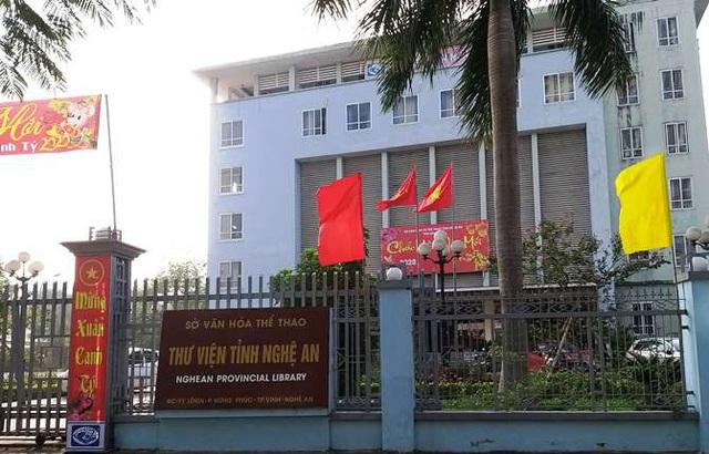 Cán bộ thư viện tỉnh Nghệ An thưởng tết chỉ 40.000 đồng - Ảnh 1.