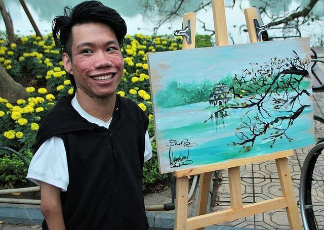 Đứa trẻ bị bỏ rơi năm xưa trở thành họa sĩ nổi tiếng - Ảnh 2.
