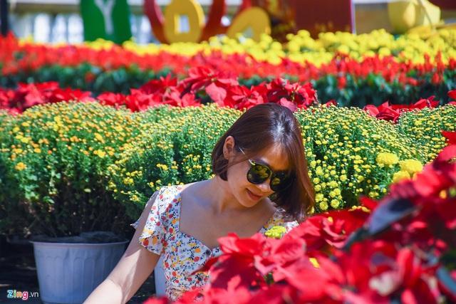Ngắm đường hoa hơn 6 tỷ ở Đà Nẵng - Ảnh 13.